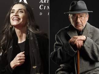 Ángela Molina y José Sacristán