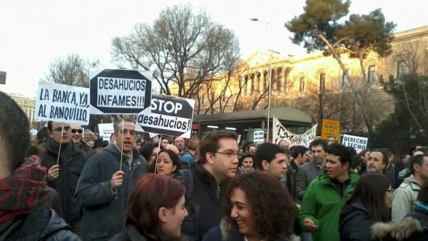 Manifestación por una vivienda digna