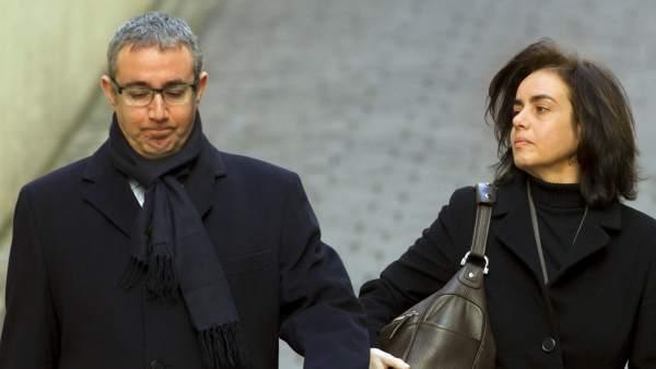 Torres y su mujer