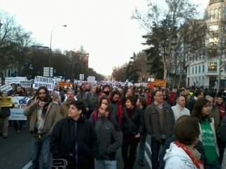 Marcha contra los desahucios