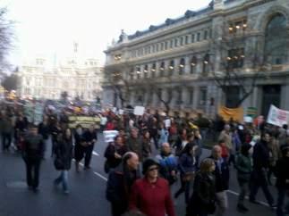 Por la calle Alcalá