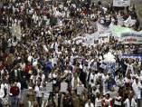 Tercera 'marea blanca' en Madrid