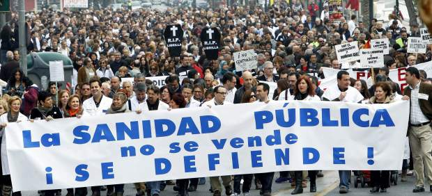 Manifestación en Murcia