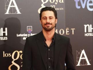 Hugo silva no se pierde la cita del cine español