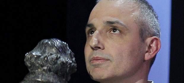 Pablo Berger tras recibir el premio Goya al mejor guión original