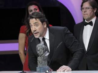 Bardem recoge el Goya al mejor documental