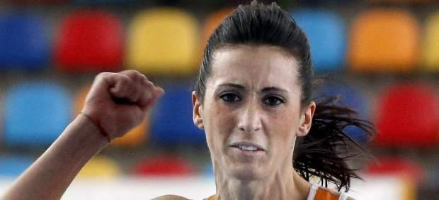 La atleta Estela García