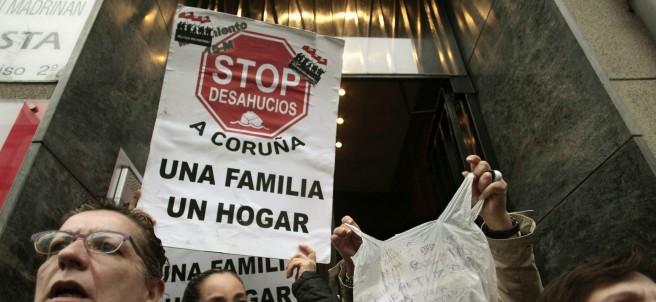 Protesta antidesahucios