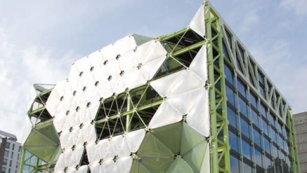 Edifici Media-TIC al districte 22@ de Barcelona.