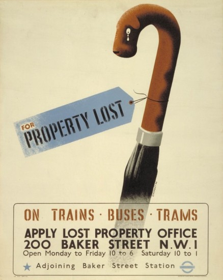 'For property lost'