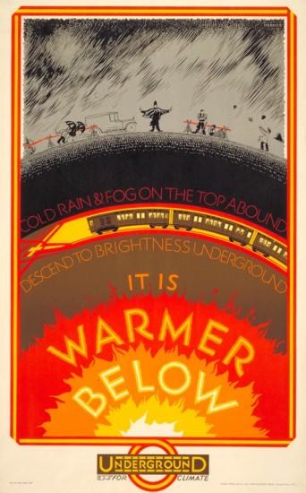 'It is warmer below'