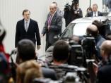 Rajoy llega al Congreso para afrontar su primer debate del estado de la naci�n
