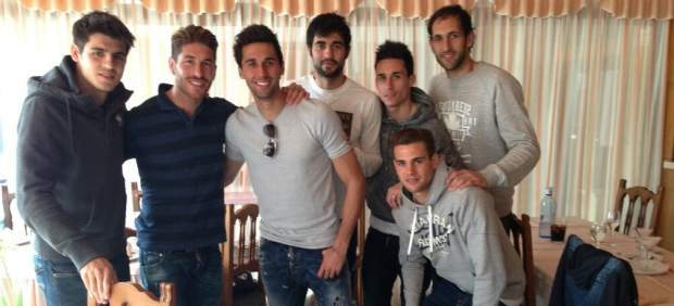 Comida jugadores Real Madrid
