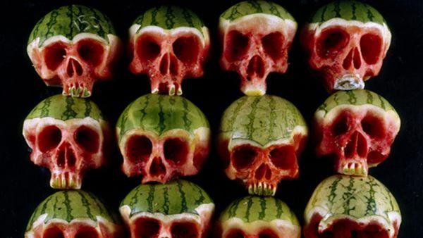 'Watermelon Skulls'