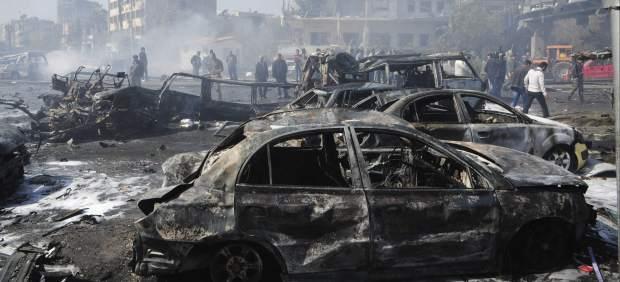 Atentado en Damasco