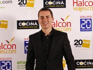 Jorge Lorenzo a su llegada a la gala