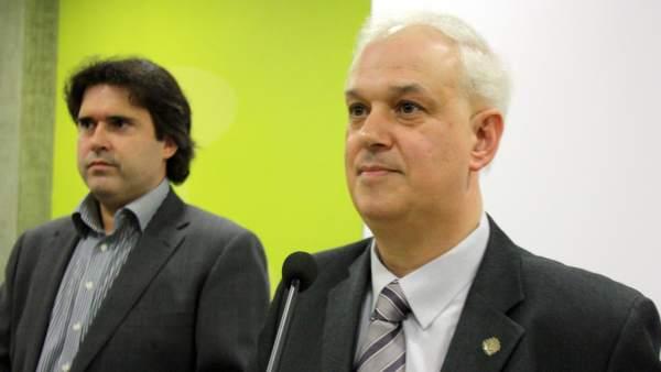 Pere Vila y Robert Fauria