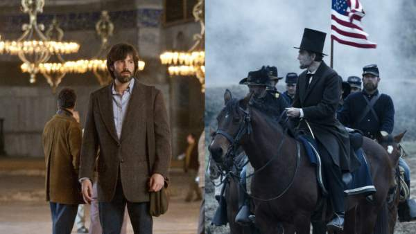 'Argo' y 'Lincoln', las favoritas de los Oscar 2013