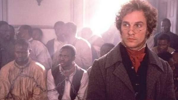 Imagen de 'Amistad', de Steven Spielberg.