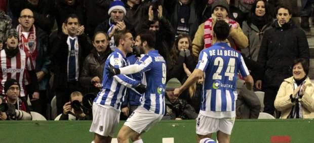 Gol de la Real Sociedad