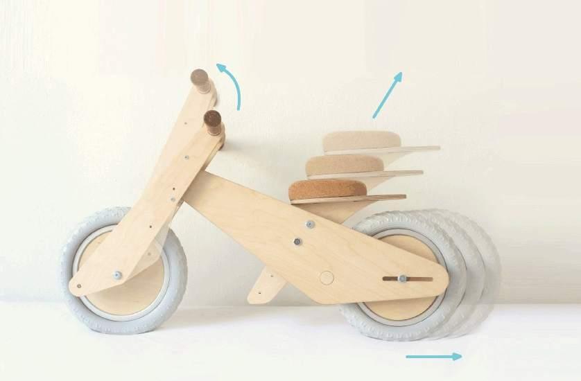 Una estudiante de barcelona dise a una bicicleta de madera - Proyectos de madera ...