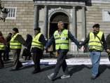 Cadena humana contra la corrupción
