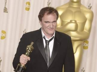 Tarantino, con su Oscar por 'Django'