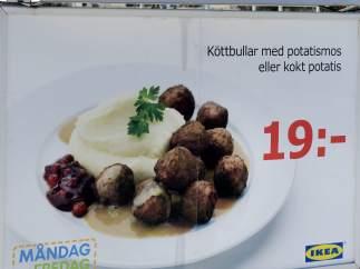Cartel de IKEA
