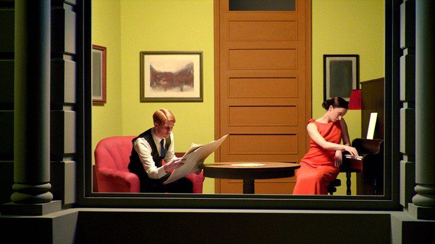 Los cuadros de Edward Hopper, hechos realidad en una película