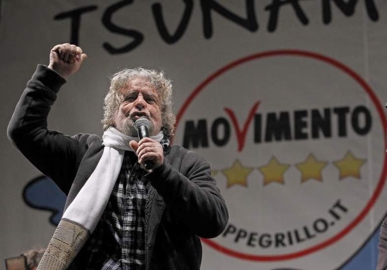 Resultado de imagen para Beppe Grillo italia