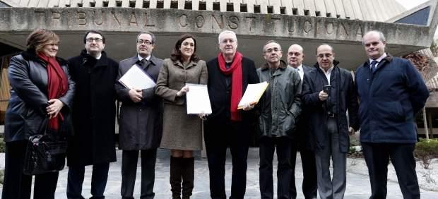 La oposición al Gobierno presenta recurso sobre las pensiones