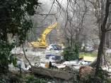 Escombros del poblado Puerta de Hierro