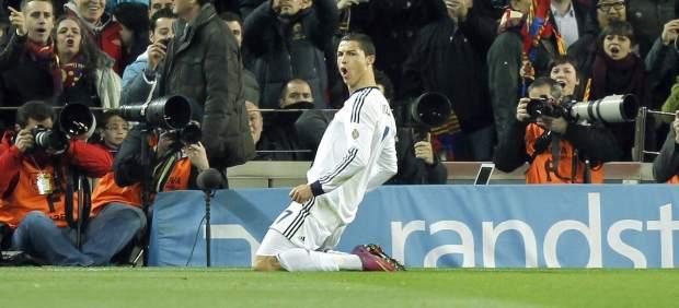 Cristiano en el Camp Nou