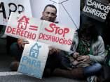 Protesta contra desahucios