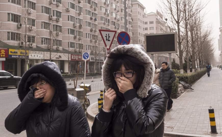 Aire irrespirable en Pekín