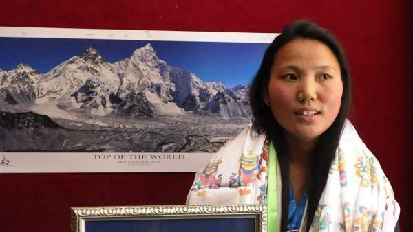 La dama del Everest