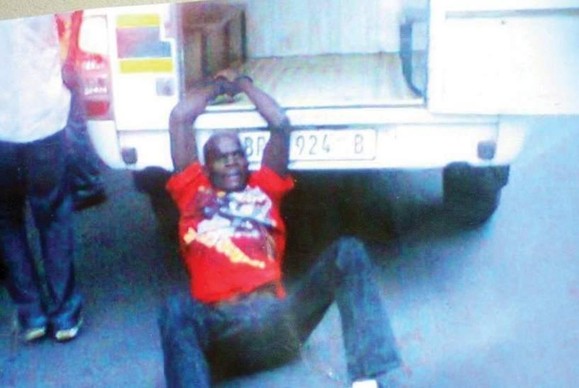 Taxista muerto en Johanesburgo