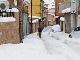 50 cent�metros de nieve en Teruel
