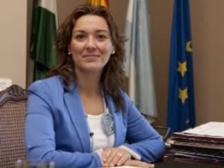 La alcaldesa de La Línea de la Concepción (Cádiz), Gemma Araujo