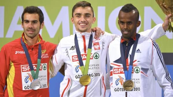 Kevin López, plata en el Europeo