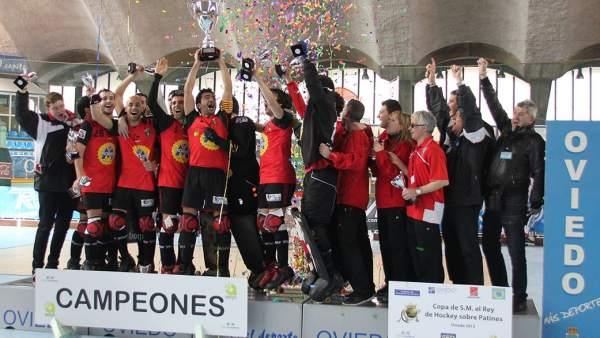 El Vendrell, campeón de la Copa de hockey patines 2013