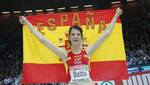 Ruth Beitia, campeona de Europa