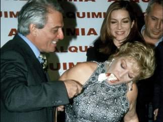Con María Jiménez