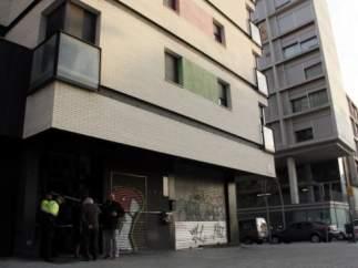 Incendio en Les Corts, Barcelona