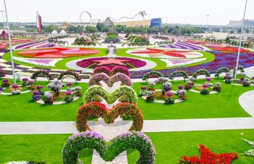Dubai abre las puertas del jard n floral m s grande del - Arreglo de jardines ...