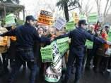 Protestas por las preferentes de Bankia
