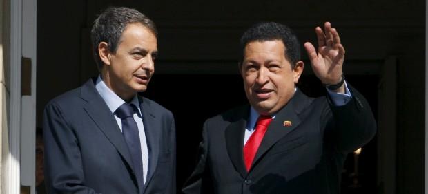 Chávez y Zapatero