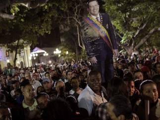 Chavistas en Caracas