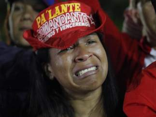 Lágrimas por Chávez