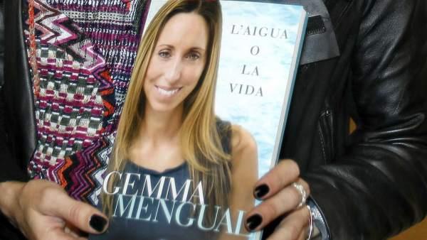 Gemma Mengual y su libro